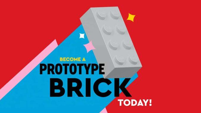 LEGO Brick Prototype Titelbild