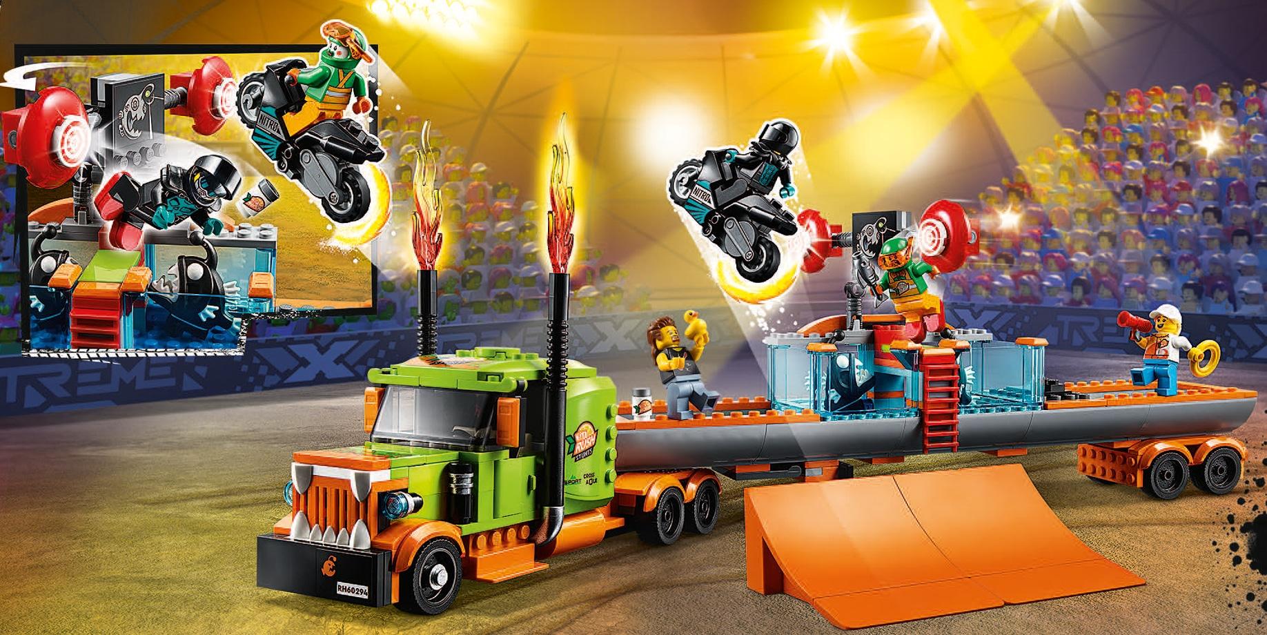 LEGO City 60294 Stuntshow Truck Katalog Japan