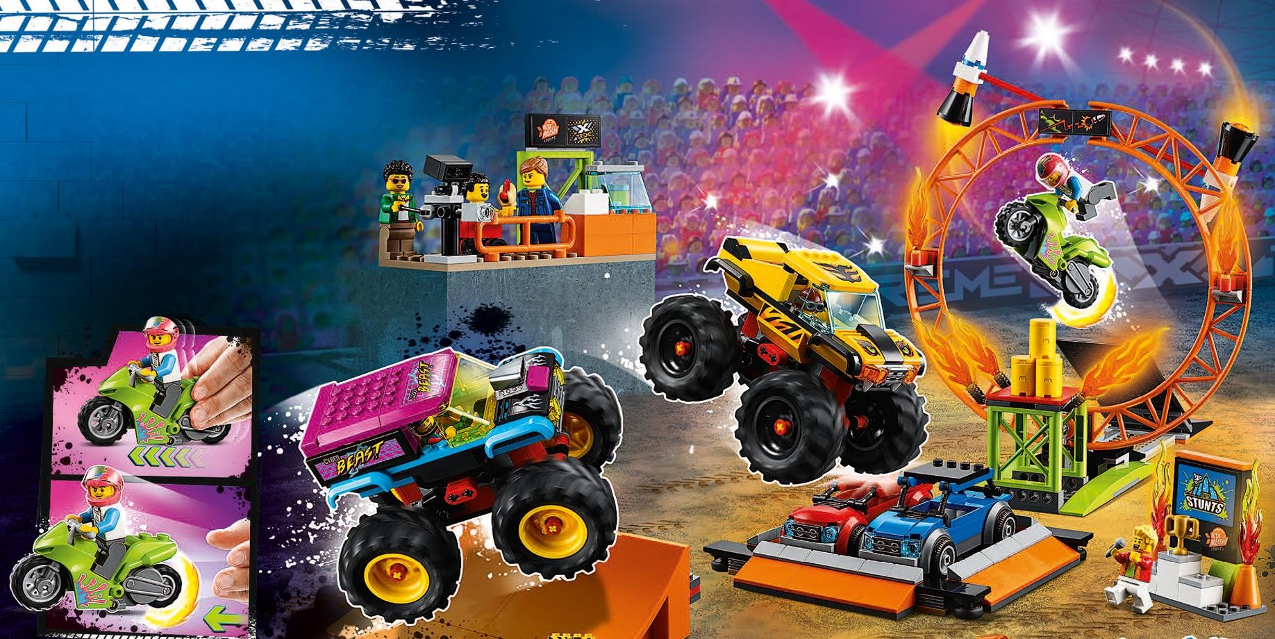 LEGO City 60295 Stuntshow Arena Katalog Japan