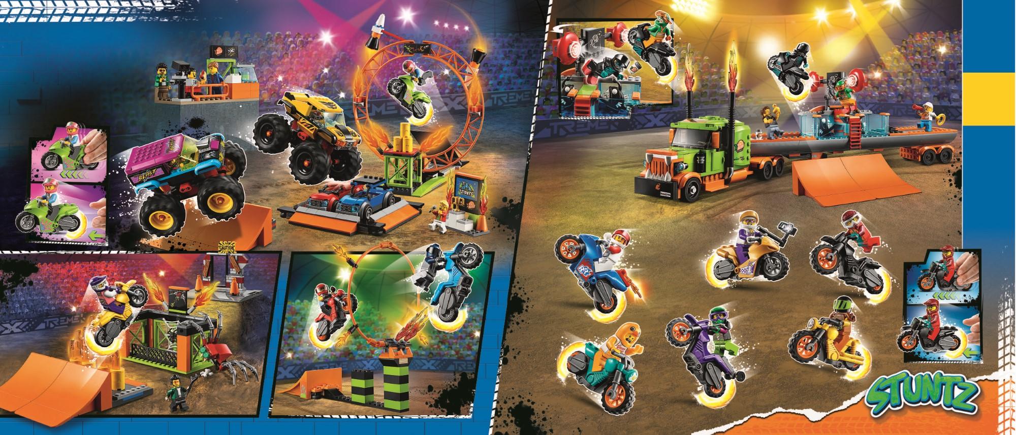 LEGO City Stuntz Katalog Übersicht