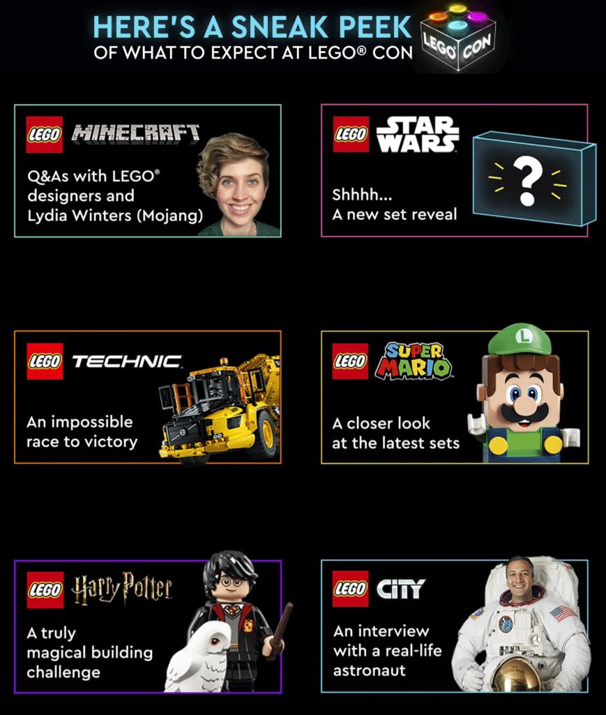 LEGO Con Programm 26 Juni