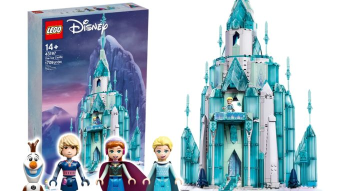 LEGO Disney 43197 Eispalast Titelbild