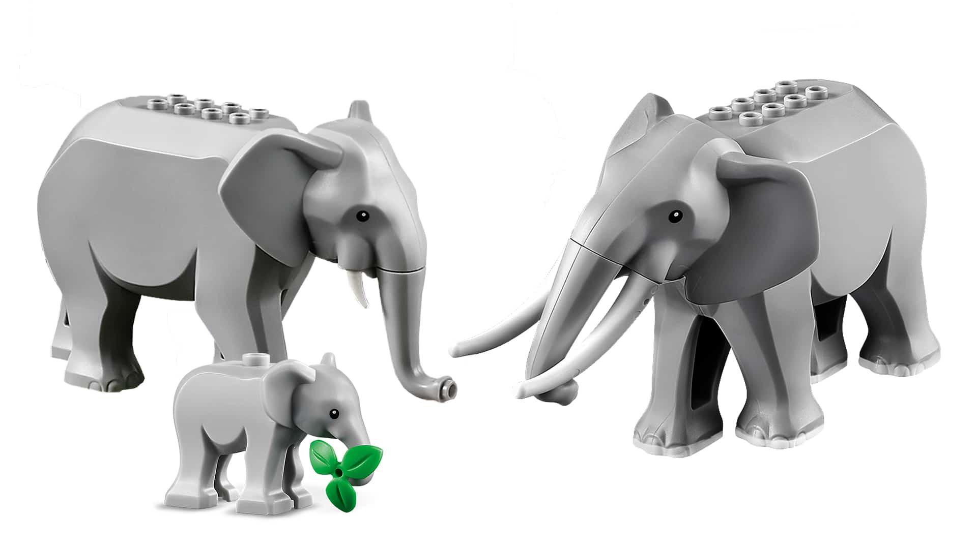 LEGO Elefanten Familie