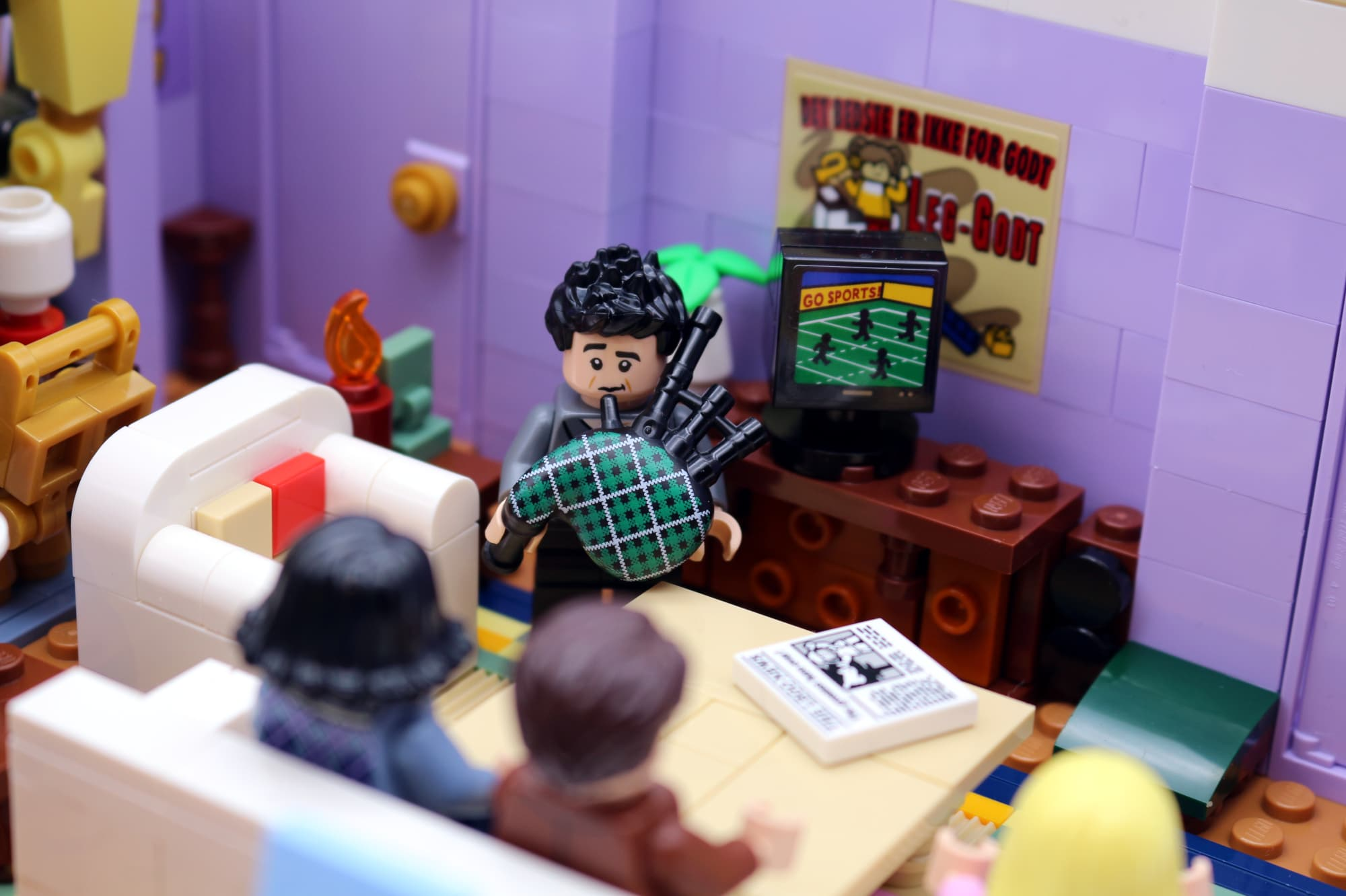 LEGO Friends 10292 The Friends Apartments 55