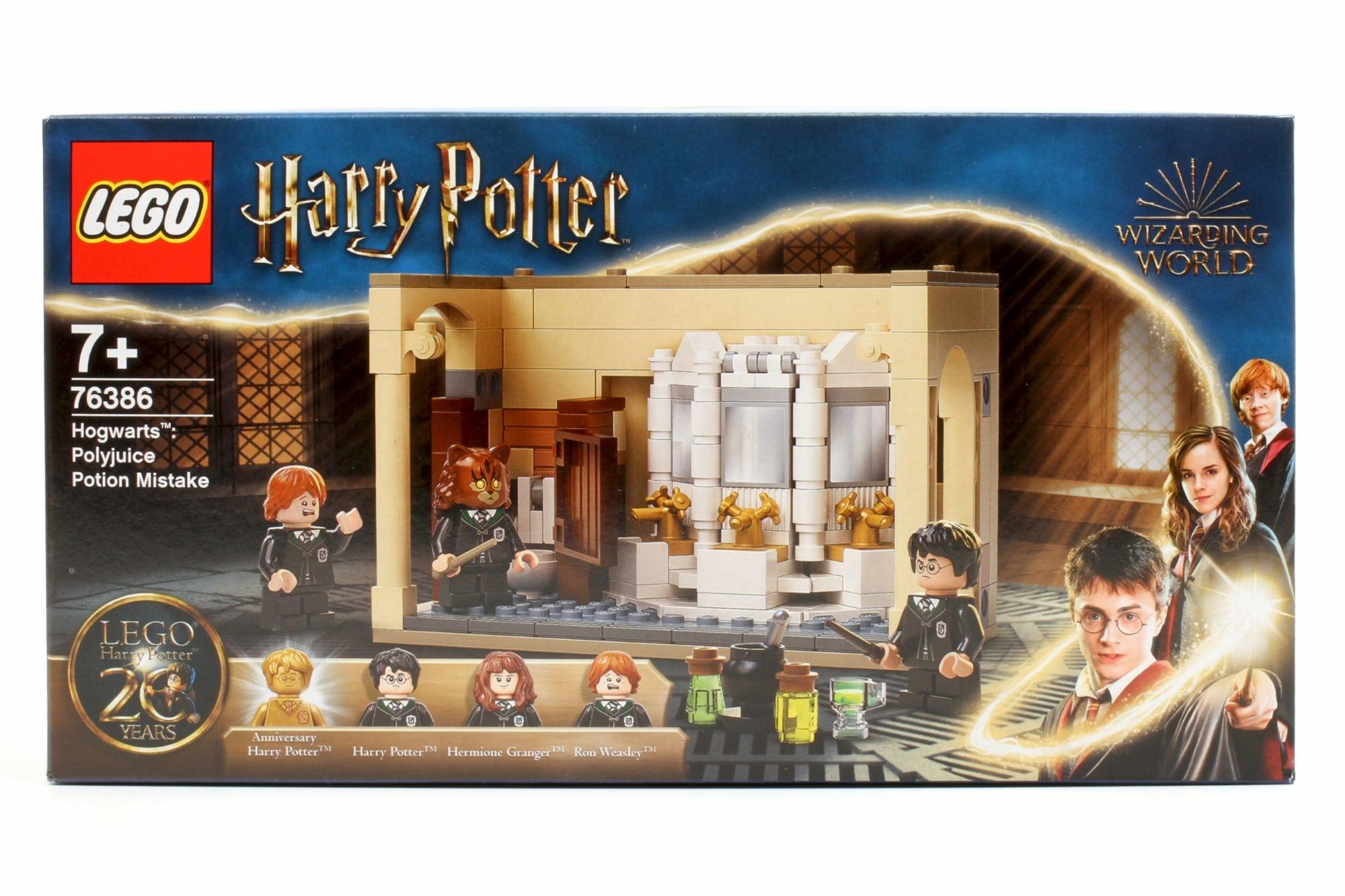 LEGO Harry Potter 76386 Hogwarts Misslungener Vielsafttrank Box 1