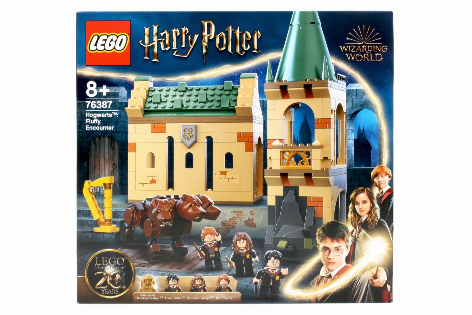 LEGO Harry Potter 76387 Hogwarts Begegnung Mit Fluffy Box 1