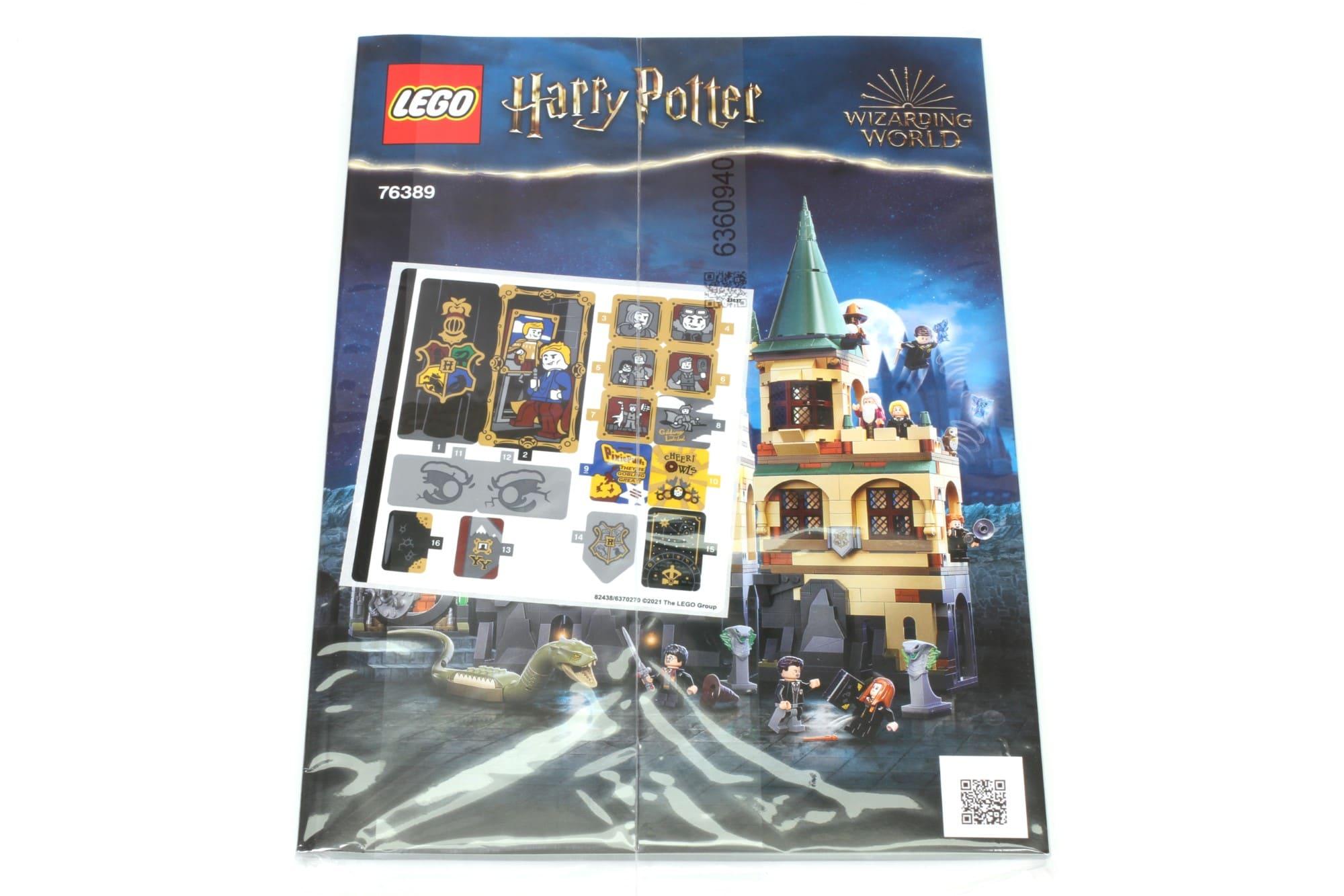 LEGO Harry Potter 76389 Hogwarts Kammer Des Schreckens Anleitung