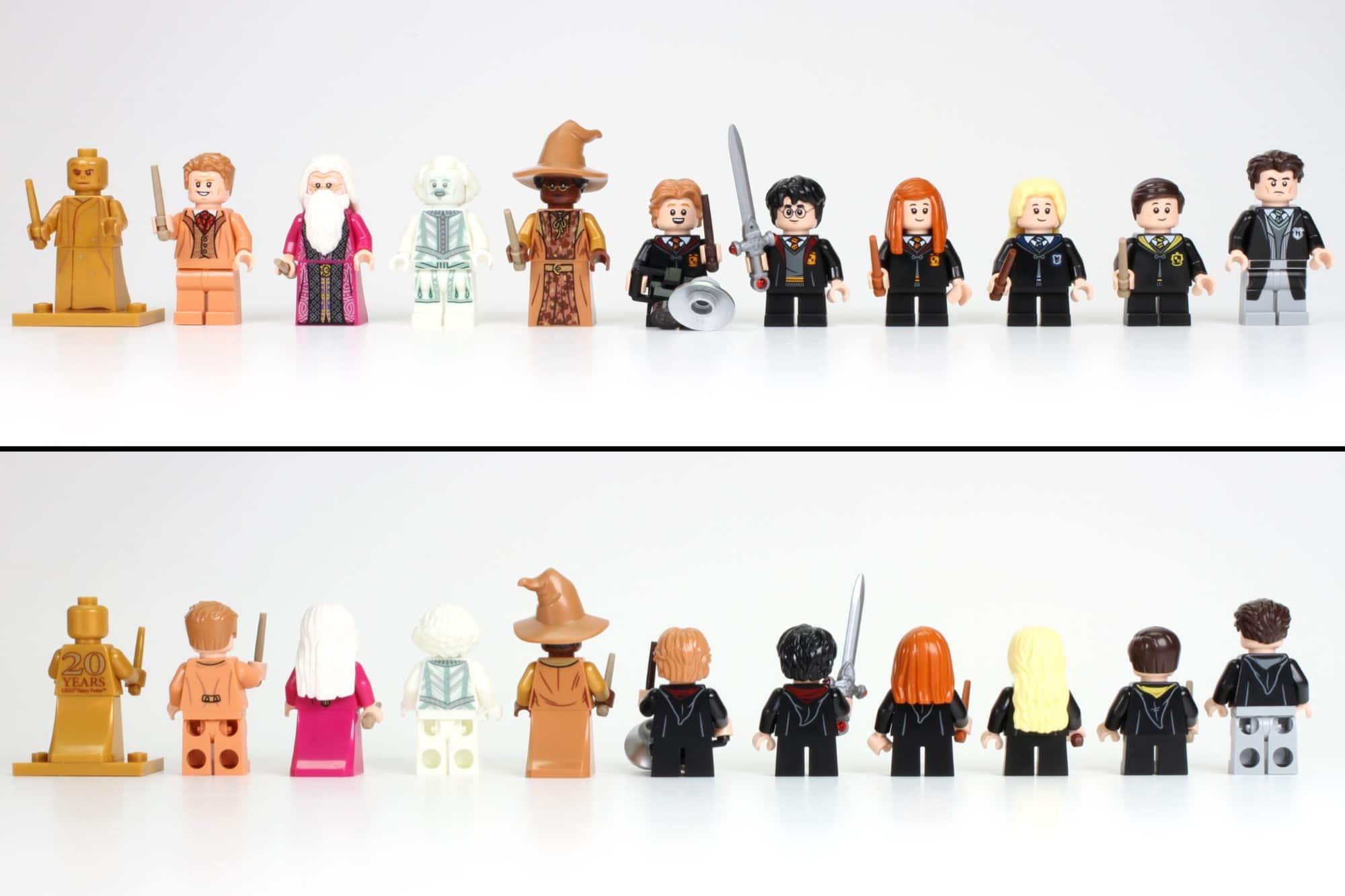 LEGO Harry Potter 76389 Hogwarts Kammer Des Schreckens Minifiguren Übersicht