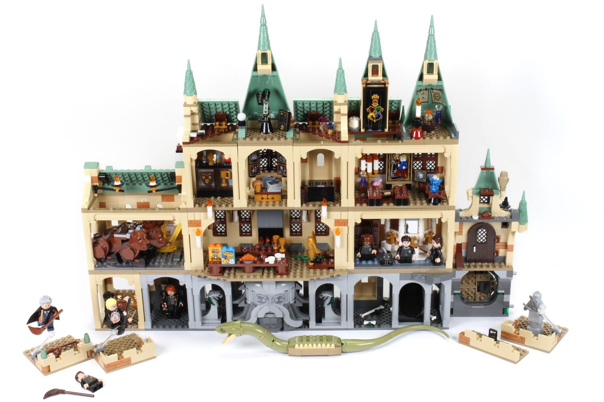 LEGO Harry Potter 76389 Hogwarts Kammer Des Schreckens Mit Erweiterungen (1)