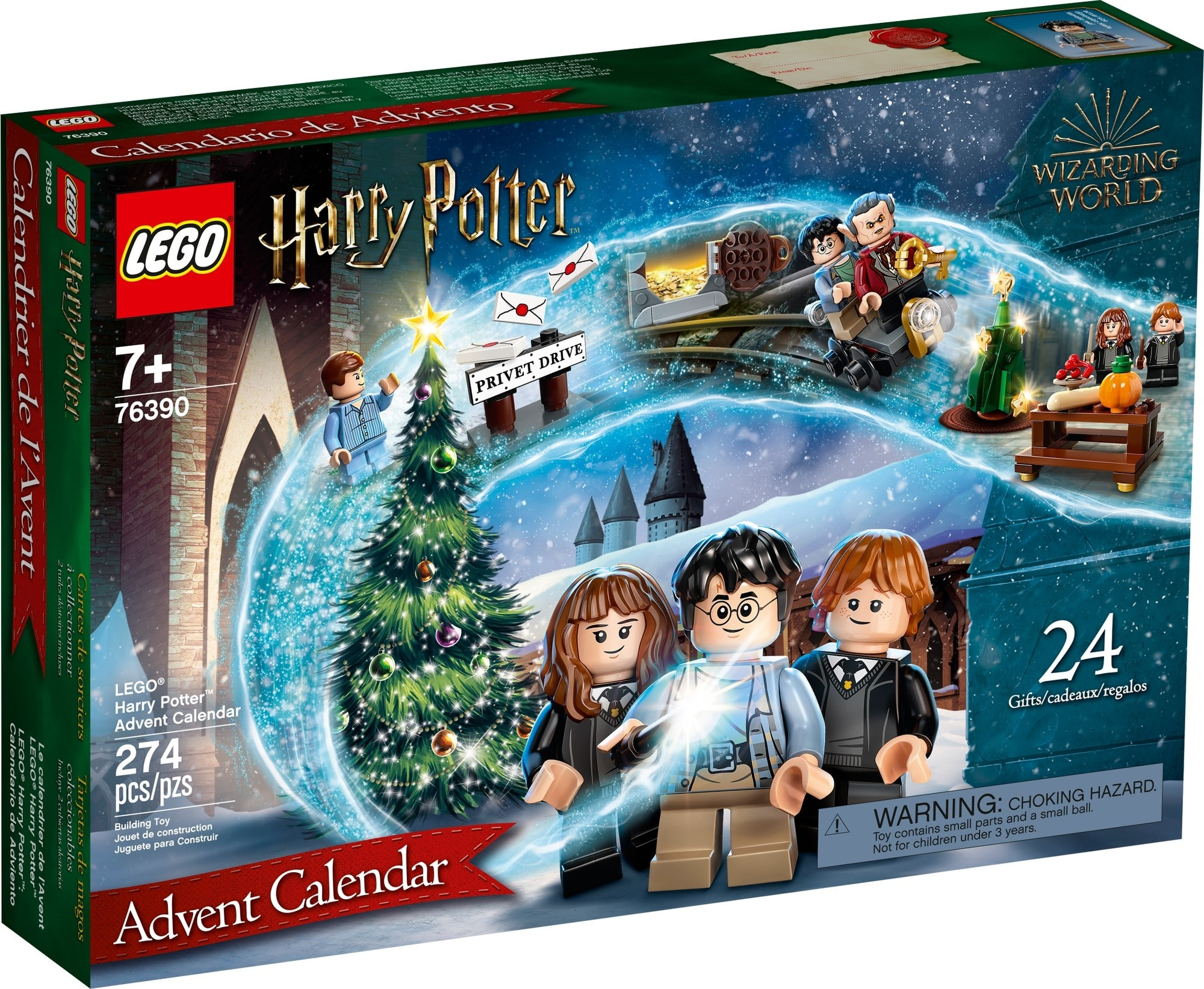 LEGO Harry Potter 76390 LEGO Harry Potter Adventskalender 2