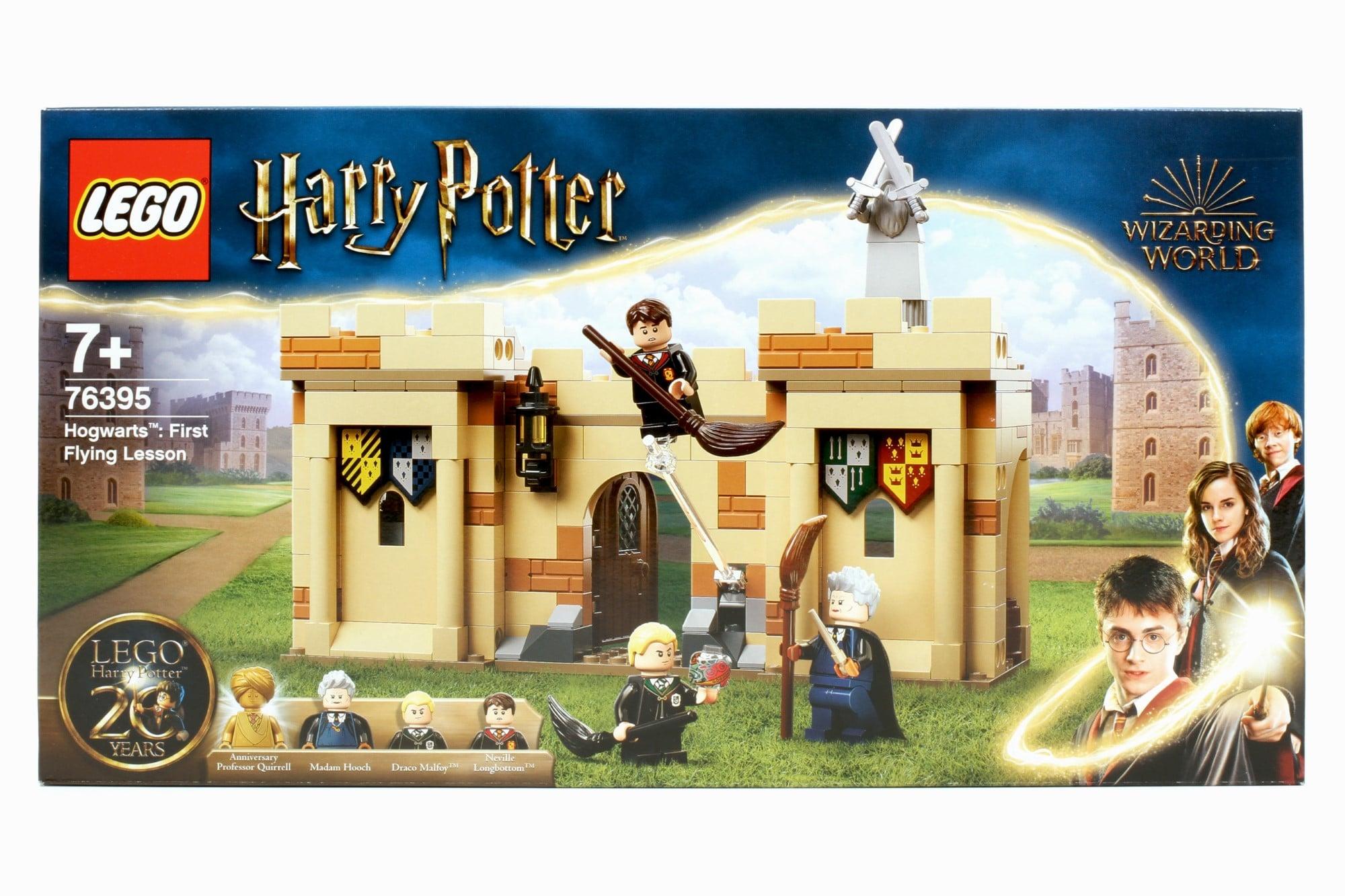 LEGO Harry Potter 76395 Hogwarts Erste Flugstunde Box 1