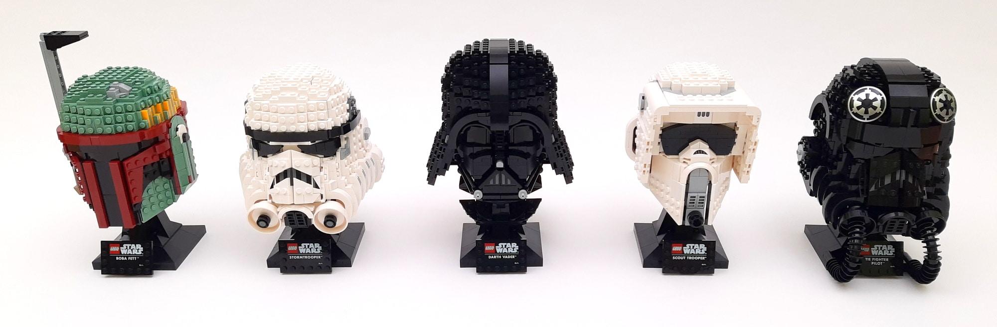 LEGO Helmet Collection 1