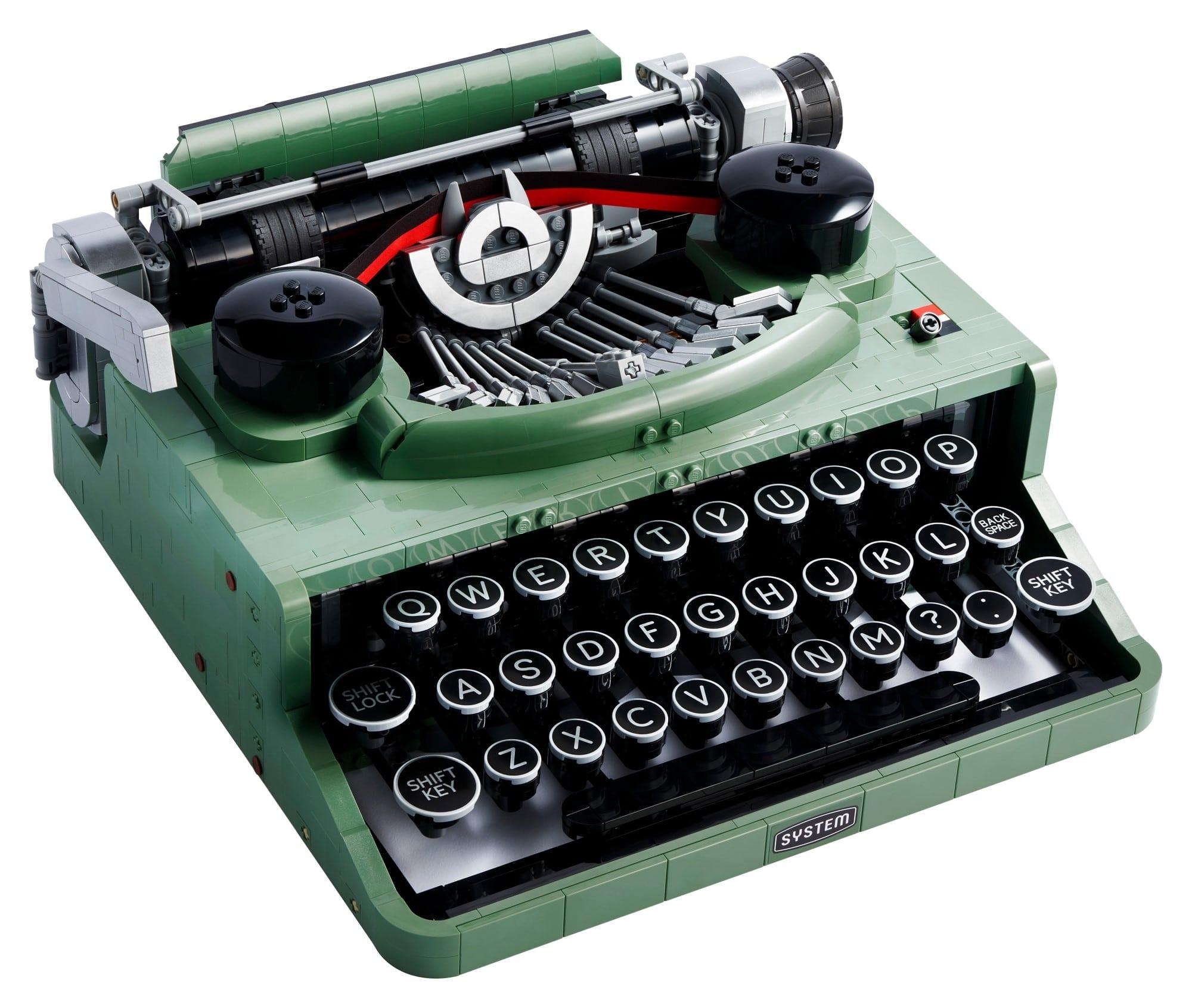 LEGO Ideas 21327 Schreibmaschine 1
