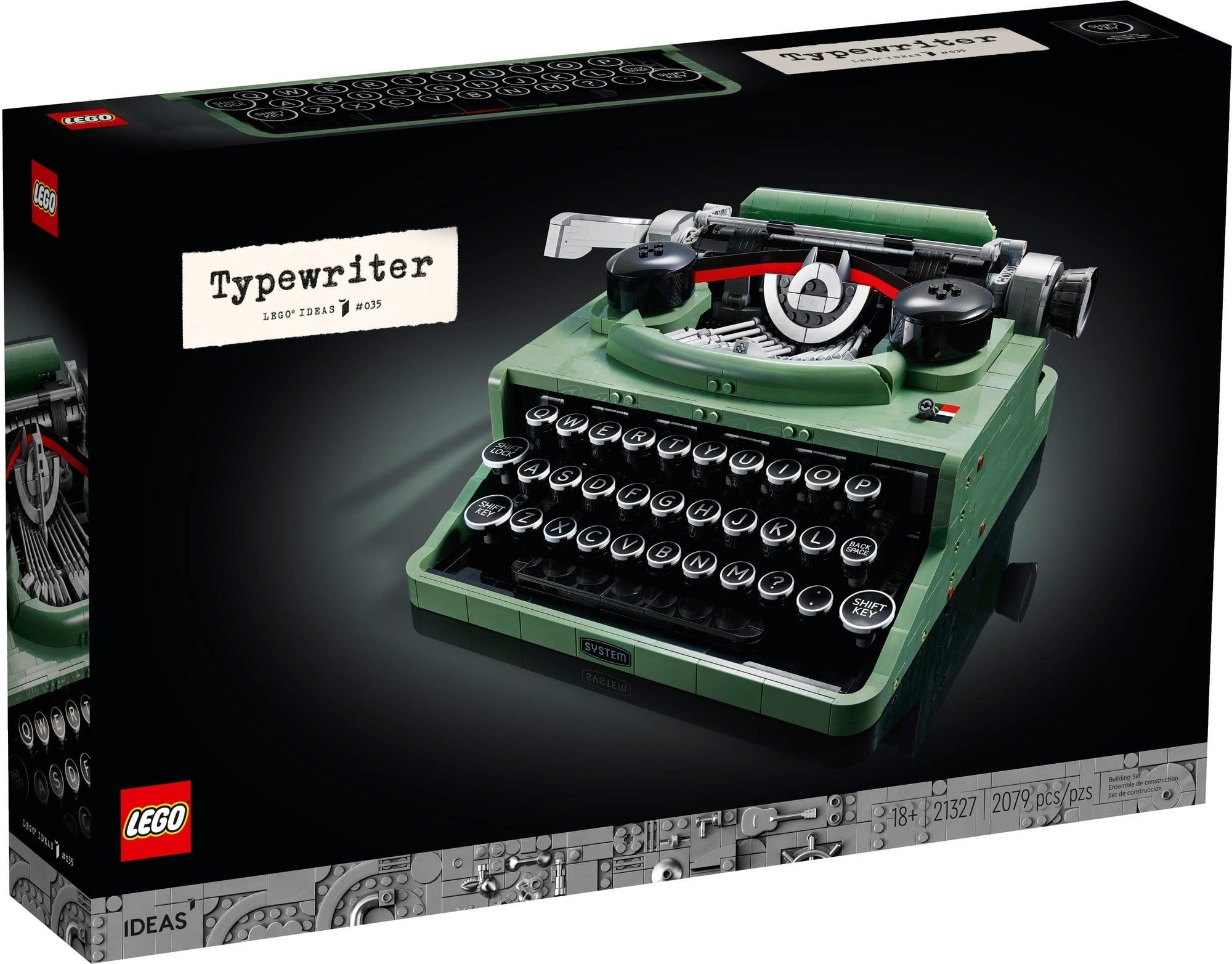 LEGO Ideas 21327 Schreibmaschine 2