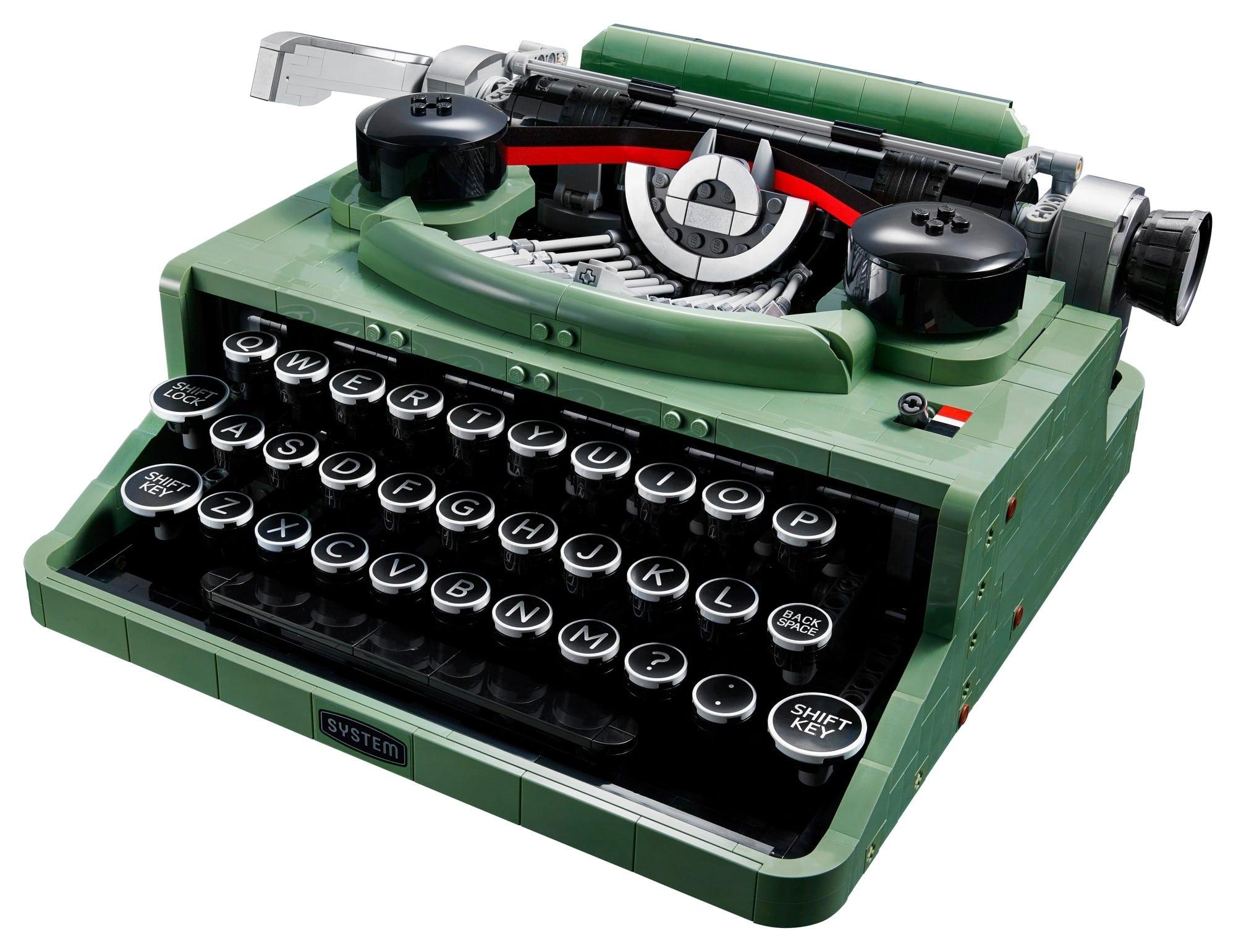 LEGO Ideas 21327 Schreibmaschine 4