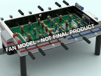LEGO Ideas Foosball Table Kicker Fan
