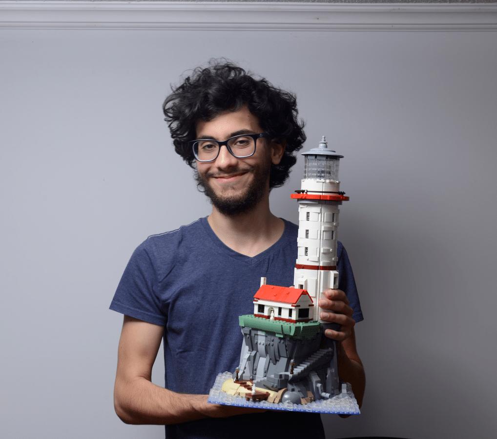 LEGO Ideas Leuchtturm Fan Designer
