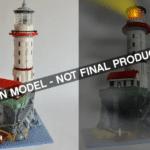 LEGO Ideas Motorized Lighthouse Approved