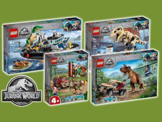 LEGO Jurassic World 2021 Neuheiten Titel