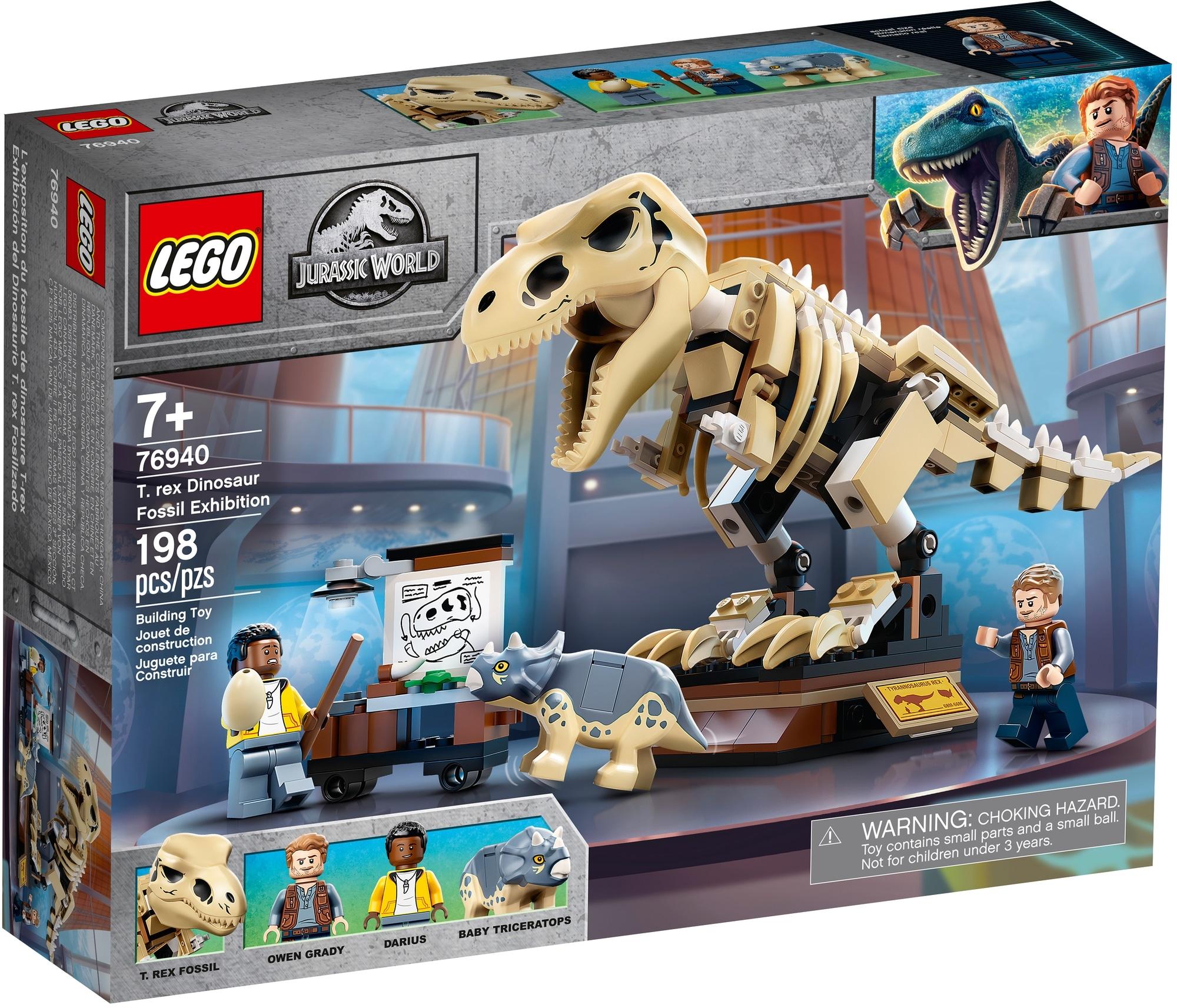 LEGO Jurassic World 76940 T. Rex Skelett In Der Fossilienausstellung 2