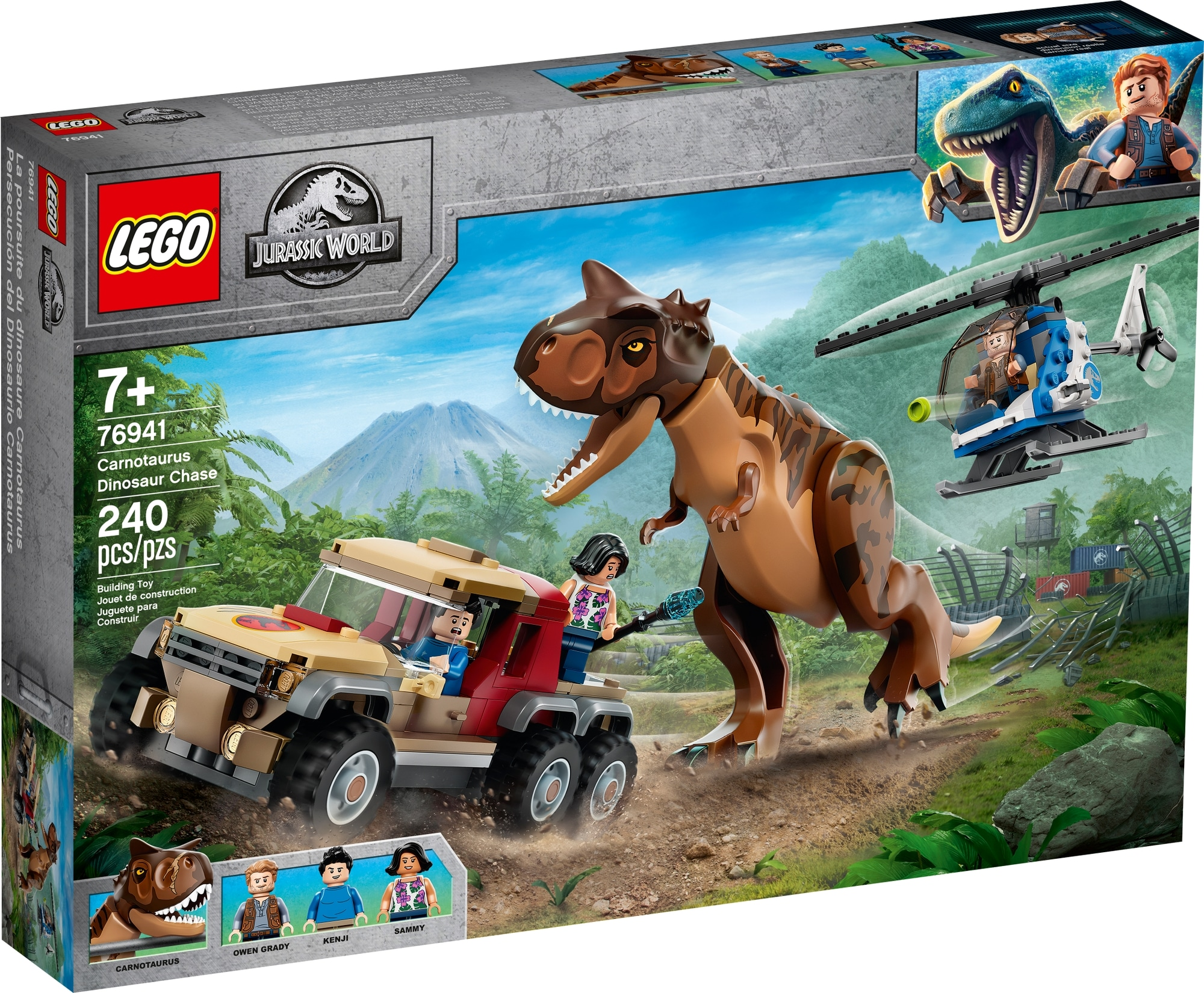 LEGO Jurassic World 76941 Verfolgung Des Carnotaurus 2