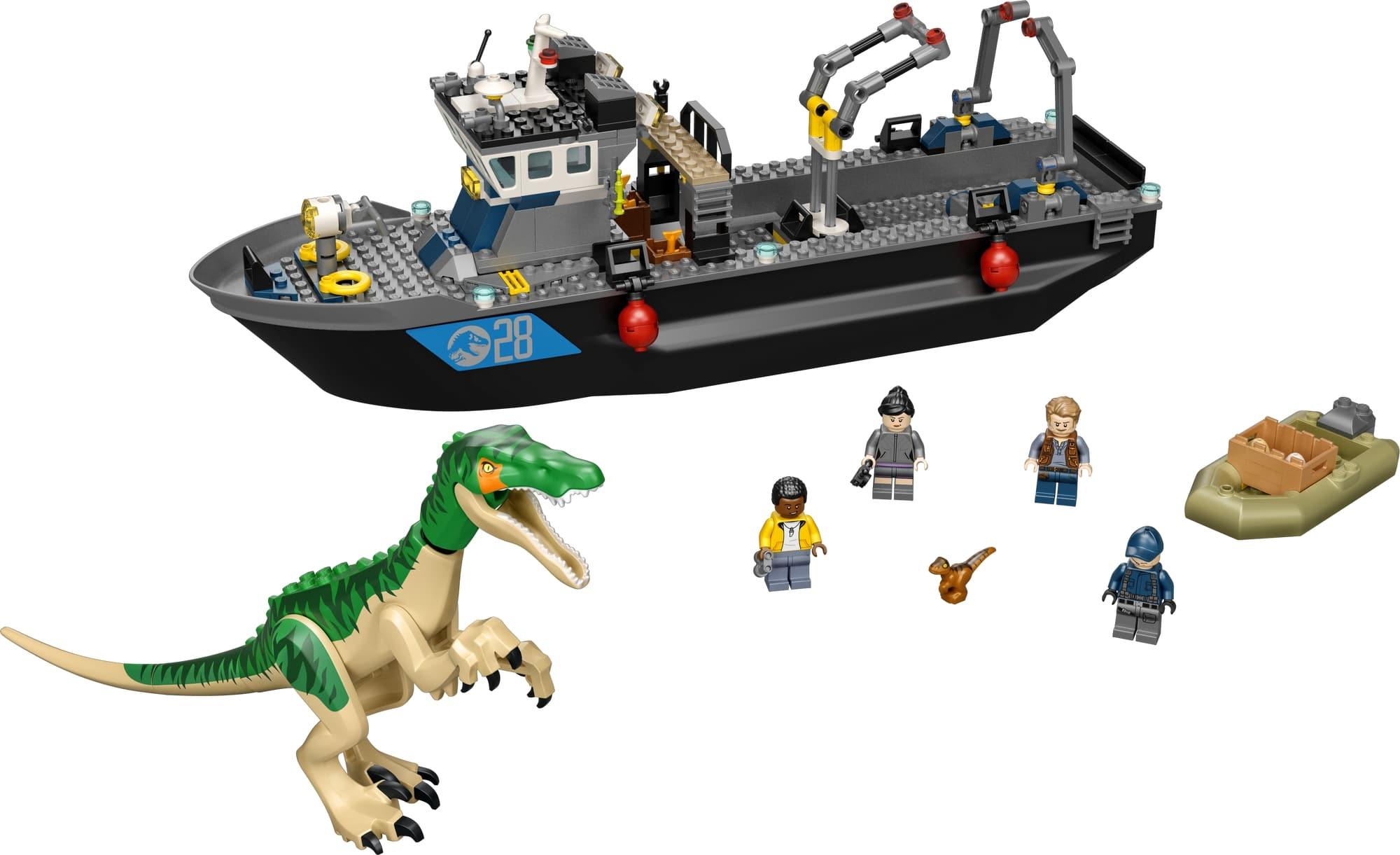 LEGO Jurassic World 76942 Flucht Des Baryonyx 1