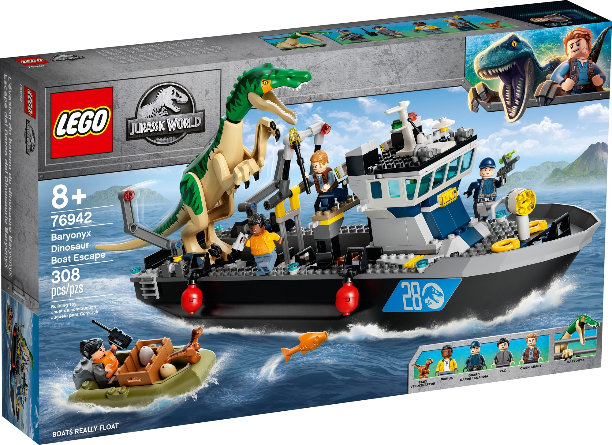 LEGO Jurassic World 76942 Flucht Des Baryonyx 2