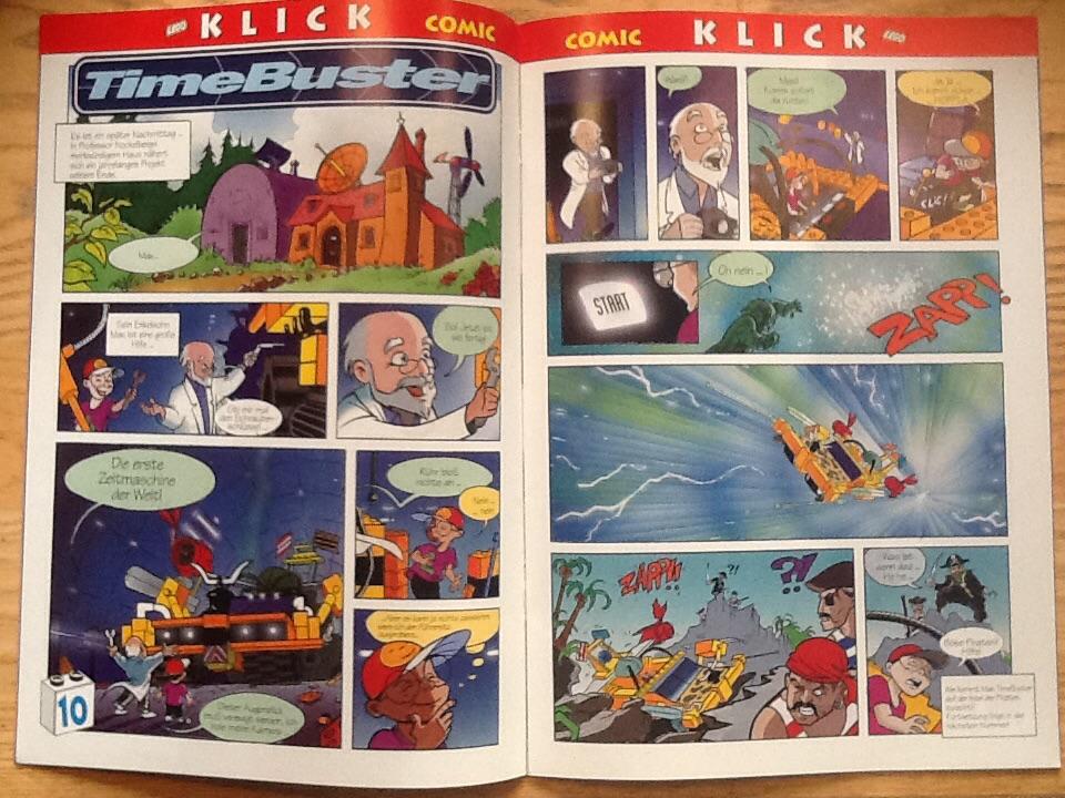 LEGO Klick Timebusters Entwurf Kim Hagen Jensen