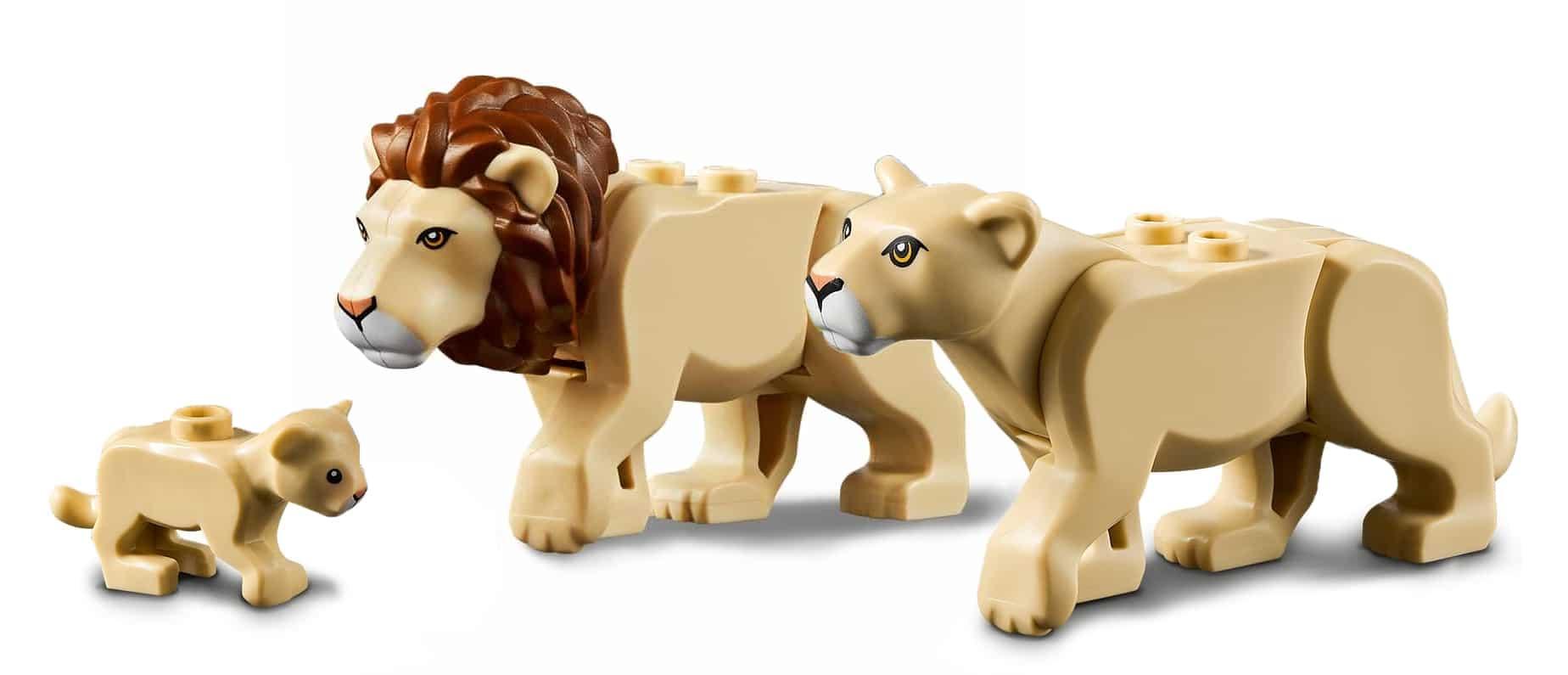 LEGO Loewen Großkatzen
