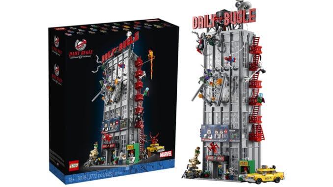 LEGO Marvel 76178 Daily Bugle Titelbild