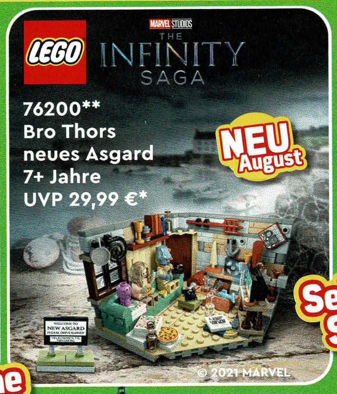 LEGO Marvel 76200 Bro Thors New Asgard