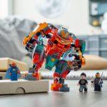 LEGO Marvel What If 76194 Tony Starks Sakaarian Iron Man 1