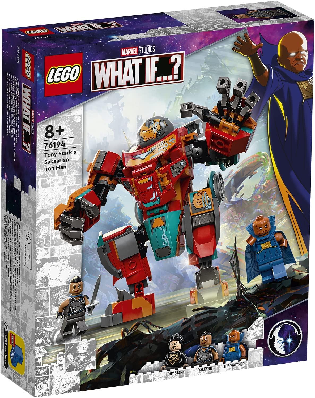 LEGO Marvel What If 76194 Tony Starks Sakaarian Iron Man 8