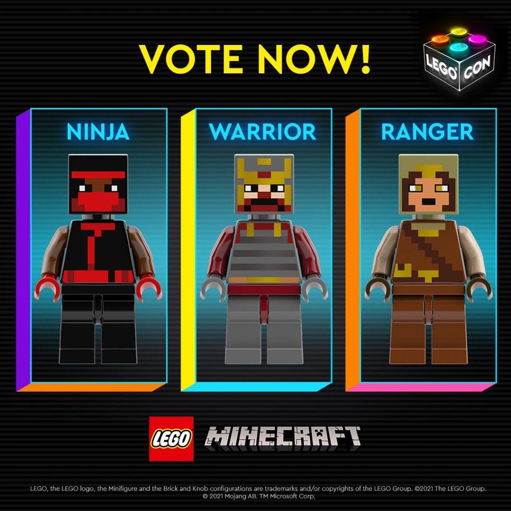 LEGO Minecraft Abstimmung