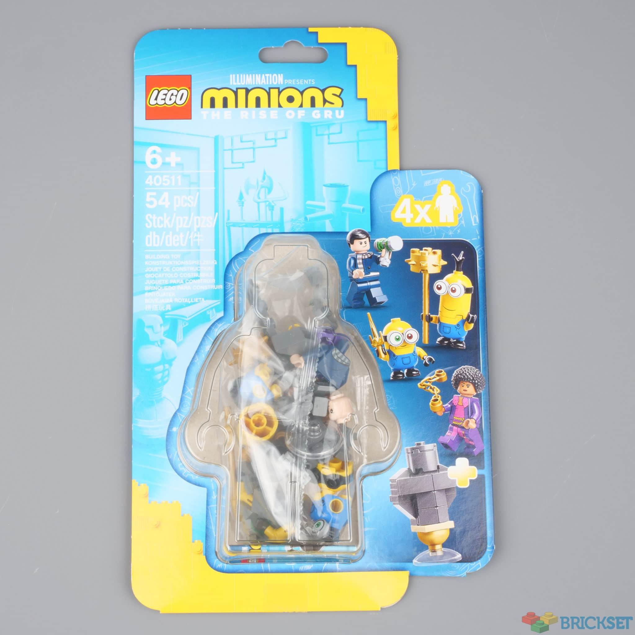 LEGO Minions 40511 Kung Fu Training 1 Brickset