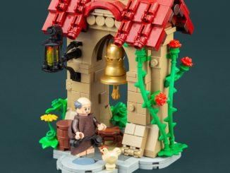 LEGO Moc Glocken Turm Castle Fantasy
