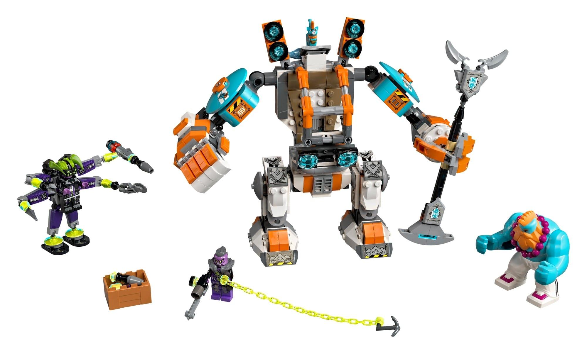 LEGO Monkie Kid 80025 Sandys Power Mech 1