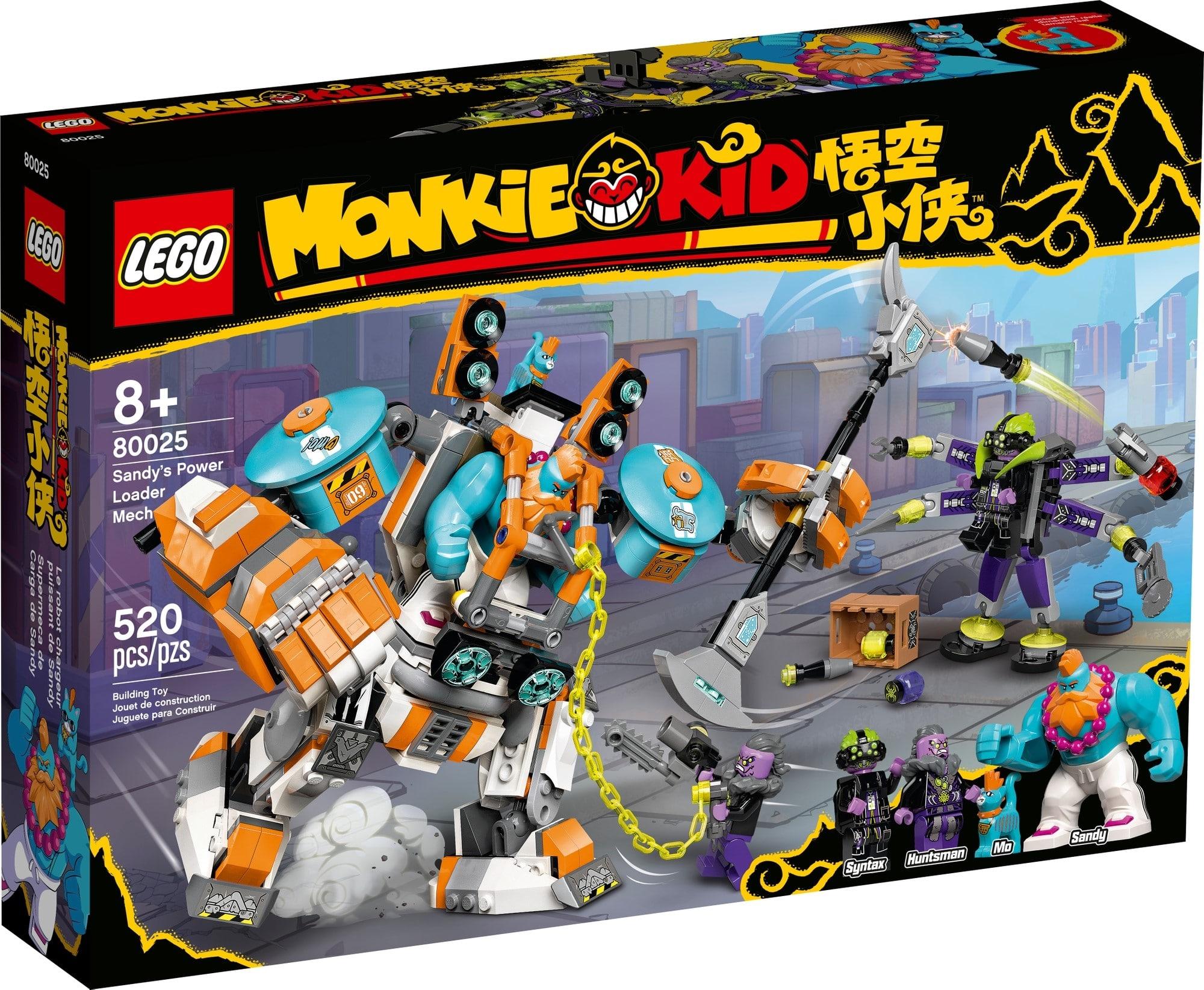 LEGO Monkie Kid 80025 Sandys Power Mech 2