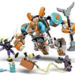LEGO Monkie Kid 80025 Sandys Power Mech 5
