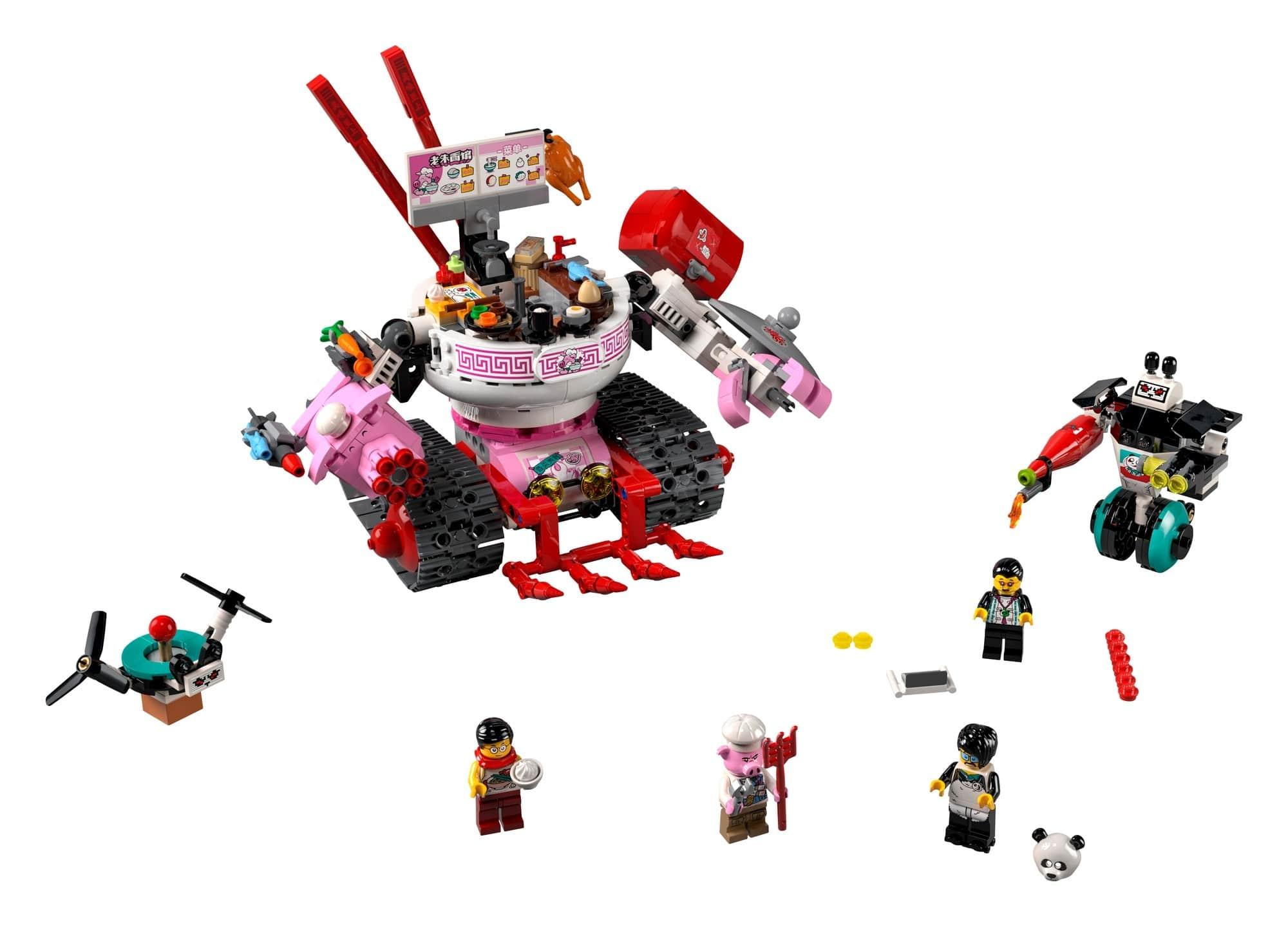 LEGO Monkie Kid 80026 Pigsys Nudelwagen 1