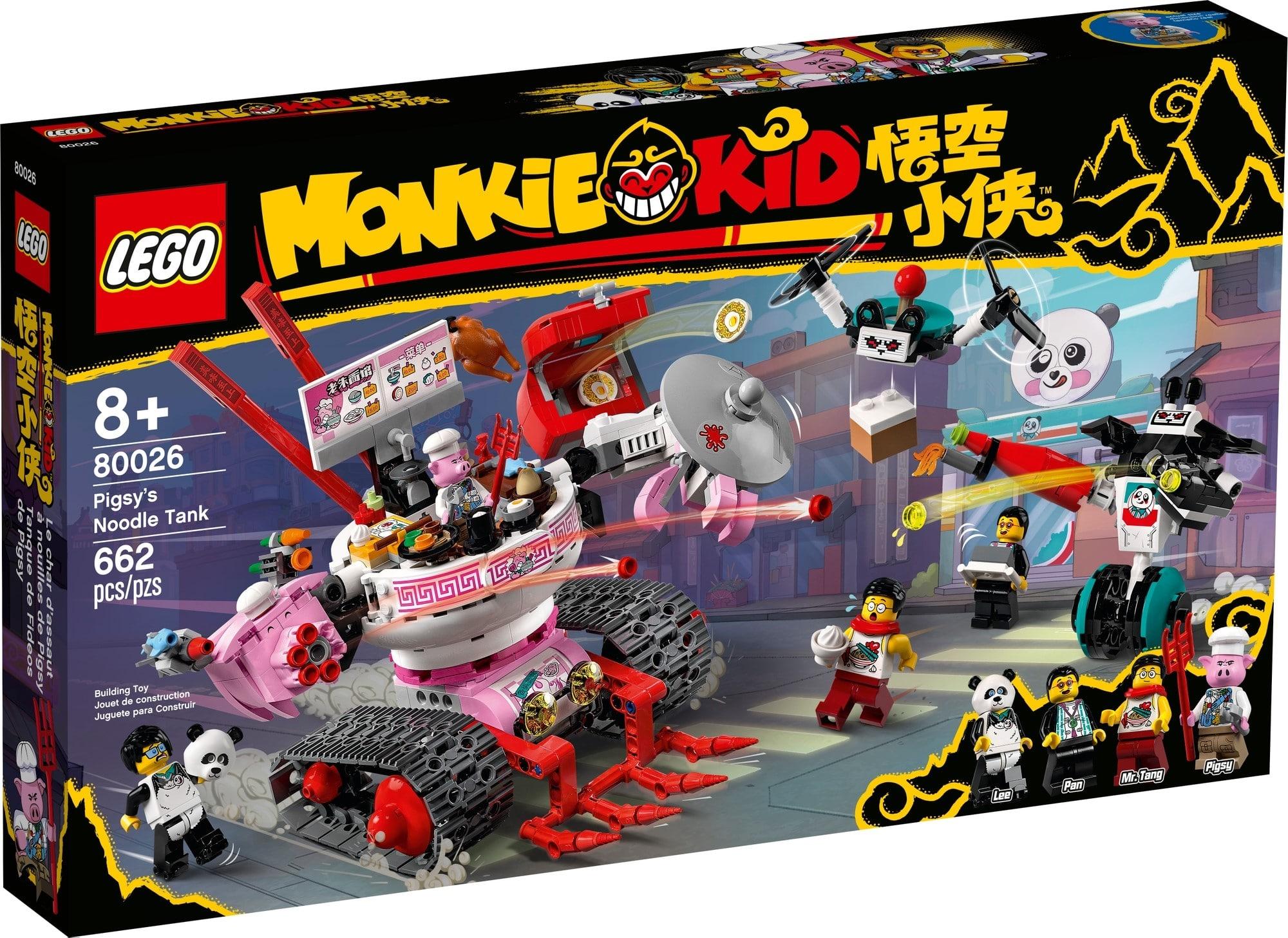 LEGO Monkie Kid 80026 Pigsys Nudelwagen 2