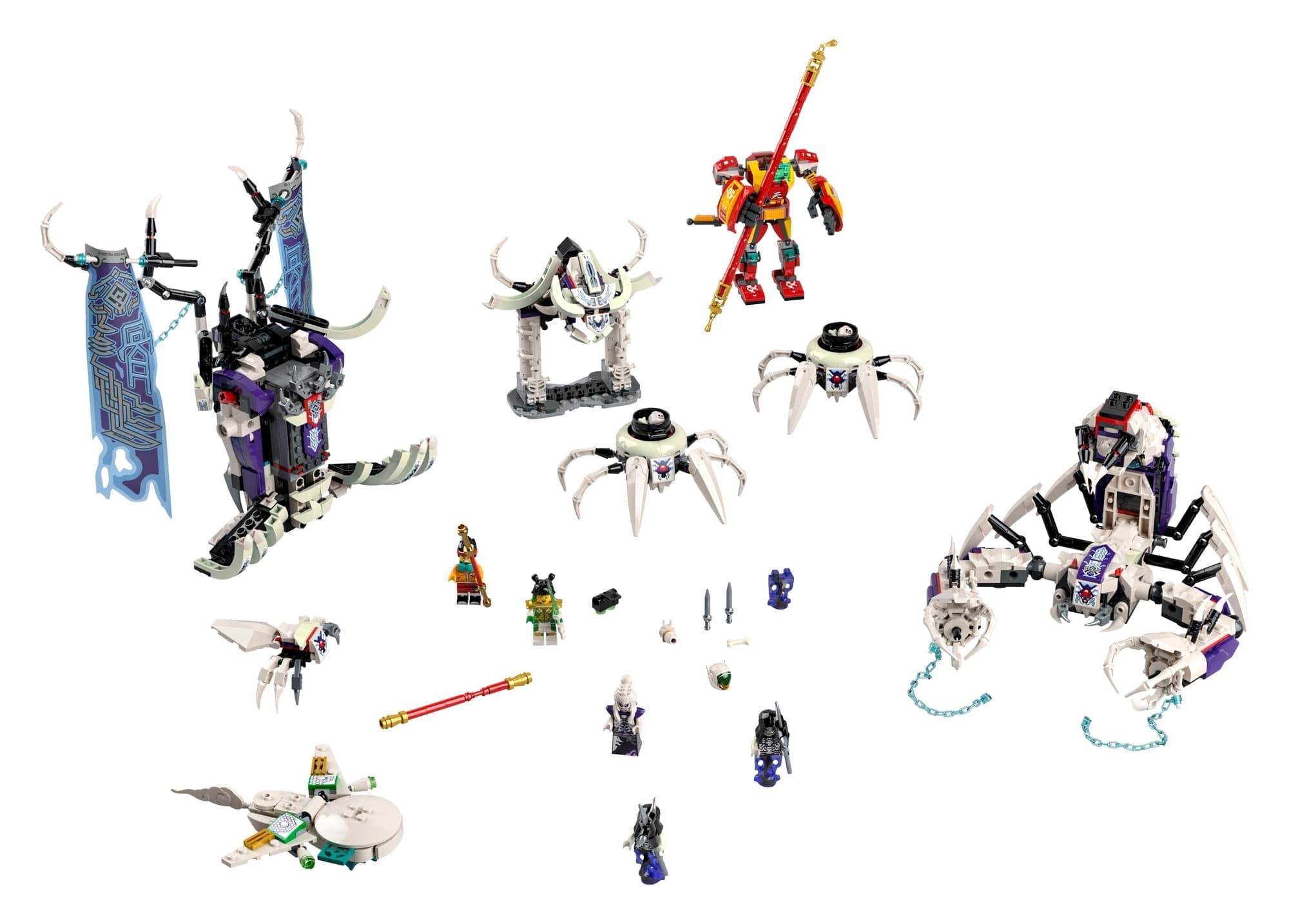 LEGO Monkie Kid 80028 Bone Demon 1
