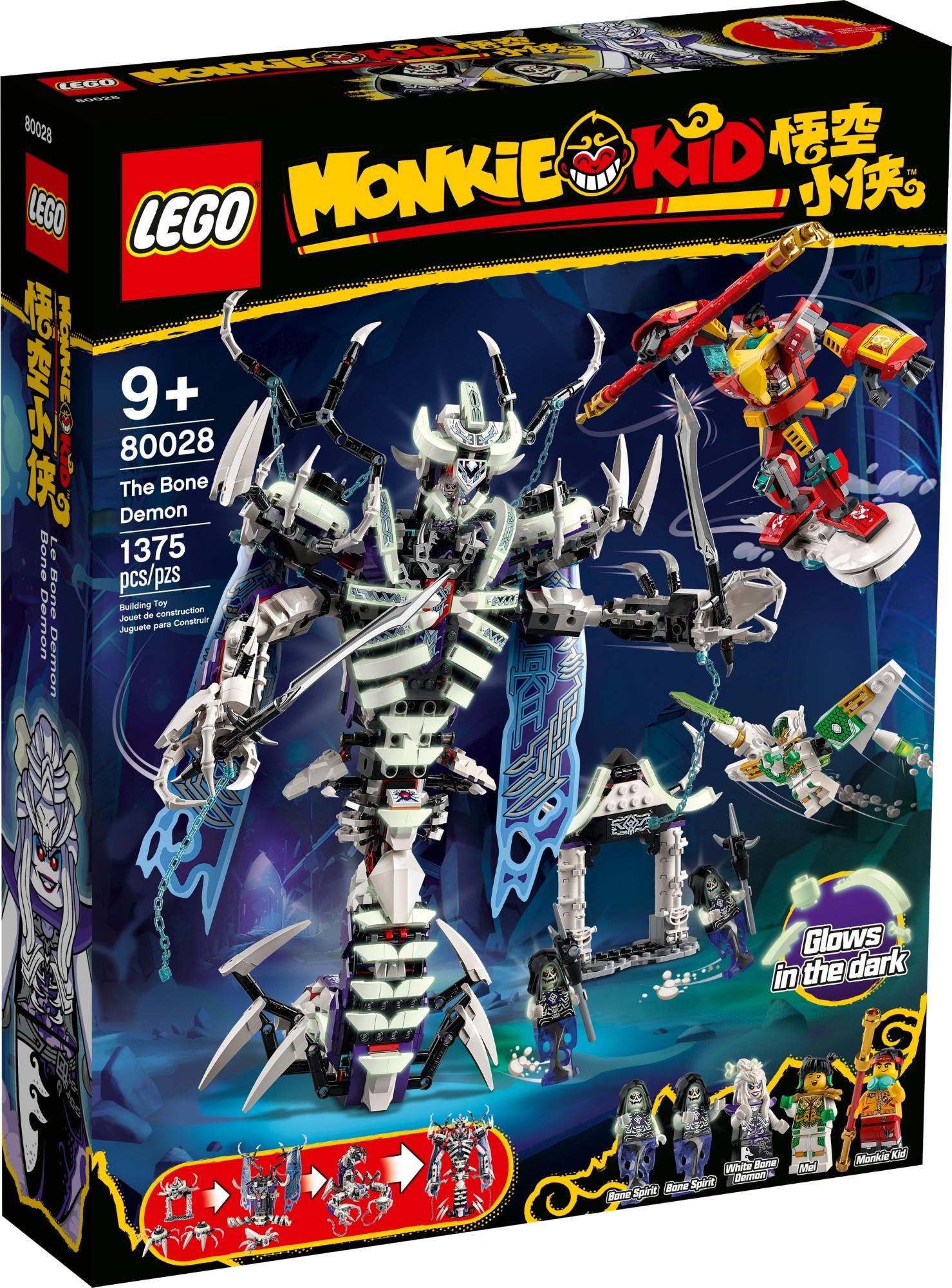 LEGO Monkie Kid 80028 Bone Demon 2