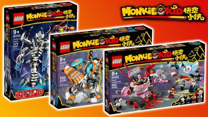 LEGO Monkie Kid Juli 2021 Titel