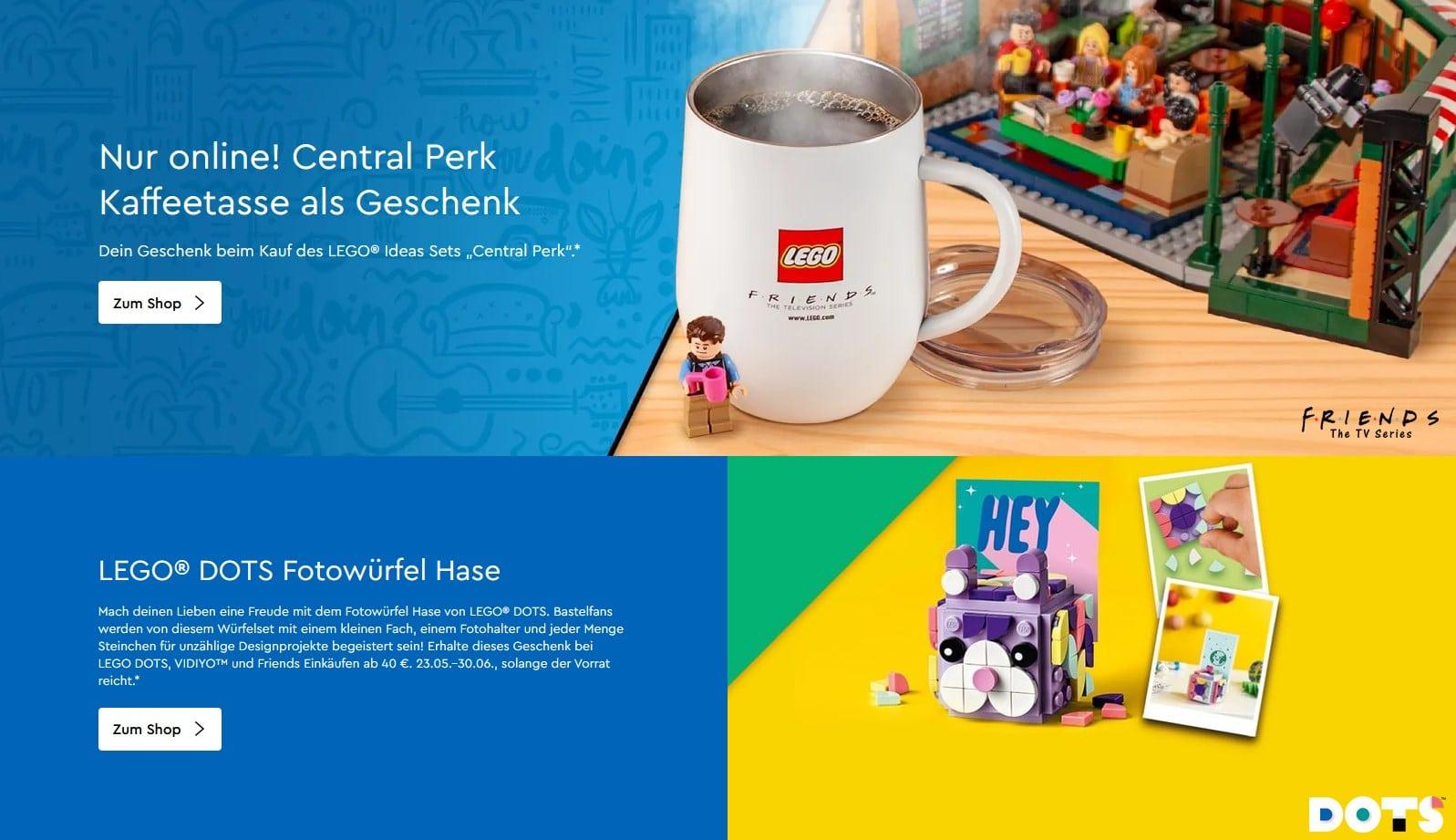 LEGO Onlineshop Gratisbeigaben Juni 2021