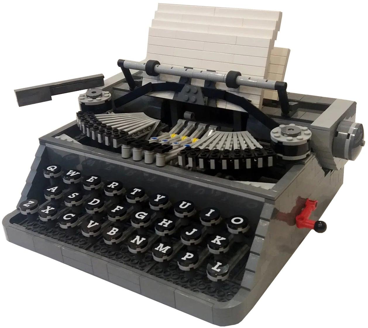 LEGO Schreibmaschine Ideas Slider 1