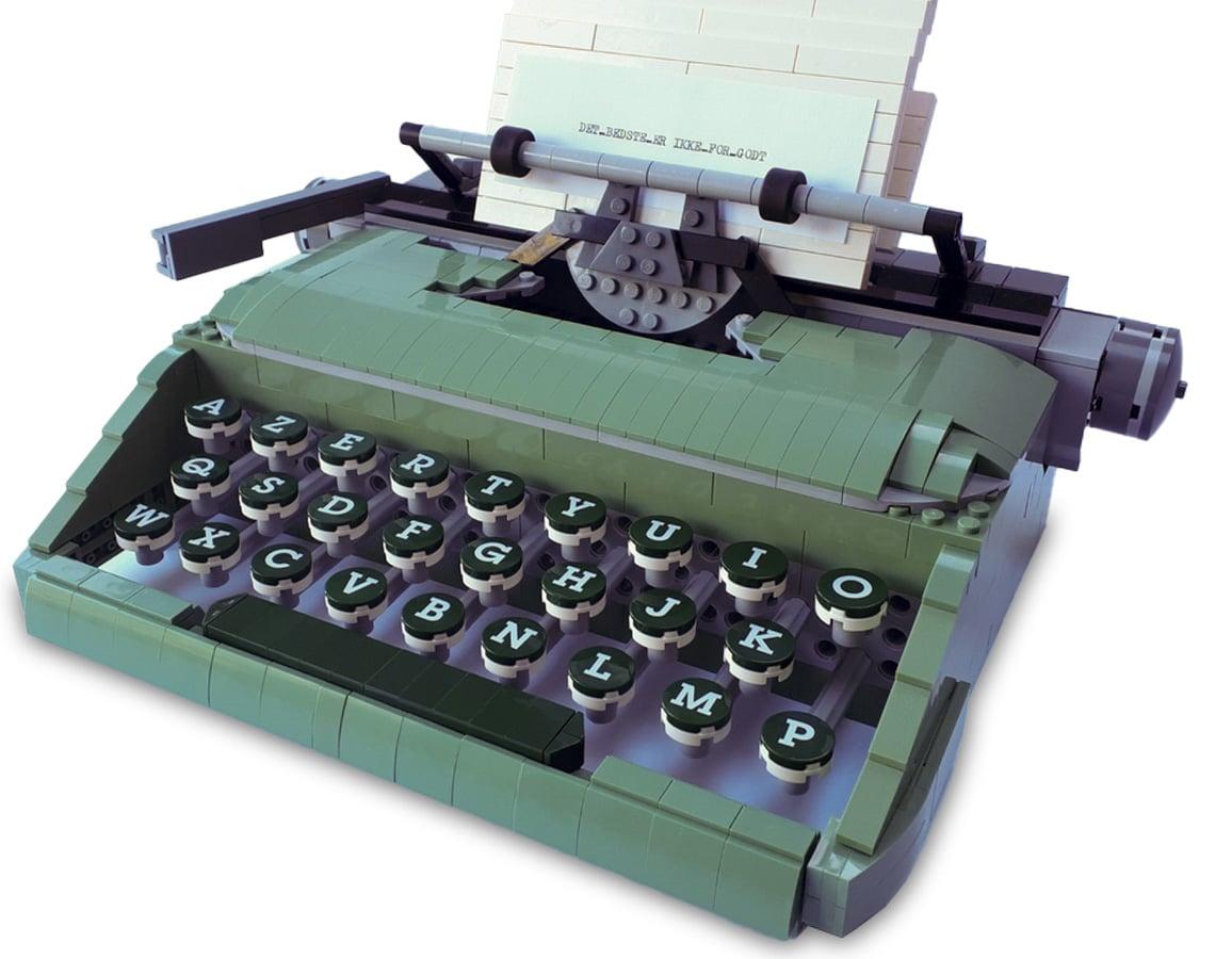 LEGO Schreibmaschine Ideas Slider 3