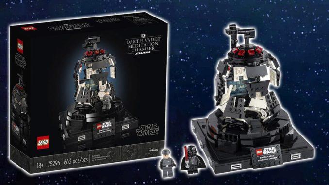 LEGO Star Wars 75296 Darth Vader Meditationskammer