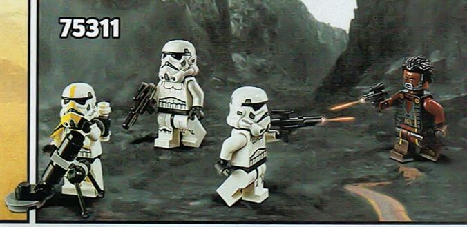 LEGO Star Wars 75311 Mandalorian Minifiguren