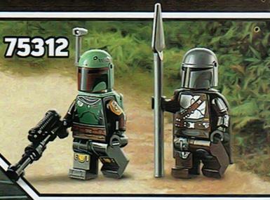 LEGO Star Wars 75312 Mandalorian Slave 1 Minifiguren